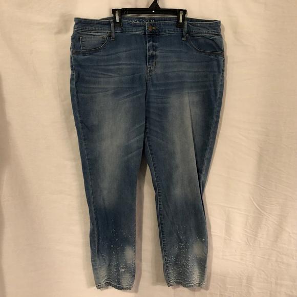 b625925a46a5d Ava & Viv Jeans | Ava And Viv Plus Size 20w Distressed 1153 | Poshmark